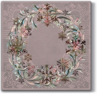 Servilletas Lunch Pastel Wreath