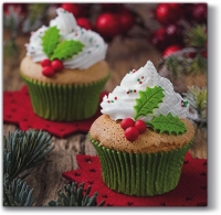 Servilletas Lunch X-mas Muffins