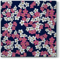 Napkins 33x33 cm - Floral Carpet violet