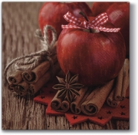 Lunch napkins Christmas Apple