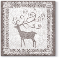 Lunch napkins Nordic Deer