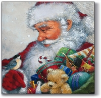 Lunch napkins Loving Santa