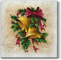 Lunch napkins Christmas Bells