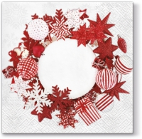 Lunch napkins Nordic Wreath