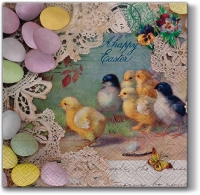 Lunch Servietten Easter Letter