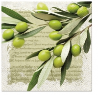 Lunch napkins Greek Olives