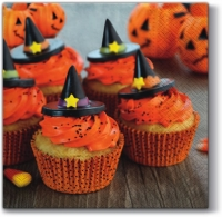 Lunch napkins Halloween Muffins