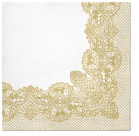 Lunch Servietten Royal Lace (gold)