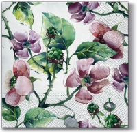 Lunch napkins Pink Wild Roses