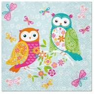 Lunch Servietten Magical Owls