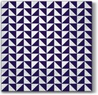 Lunch Servietten Lanes of Triangles (violet)