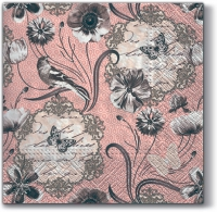 Lunch napkins Victorian Flowers