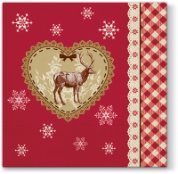 Lunch napkins Loving Christmas