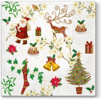 Lunch napkins Christmas Items