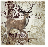 Lunch napkins Majestic Deer