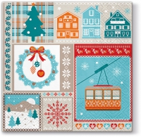 Lunch napkins Winter Holiday