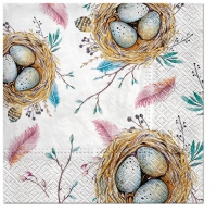 Serviettes lunch Easter Nest