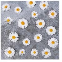 Servietten 33x33 cm - Gänseblümchen Liebe