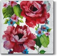 Lunch Servietten  Watercolor Roses