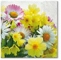 Lunch Servietten Yellow Bouquet