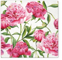Lunch napkins Pink Peonies