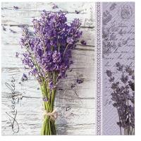Lunch napkins Lavender Bouquet