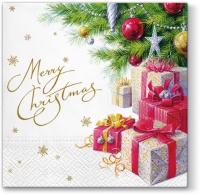 Servietten 33x33 cm - Weihnachtsgeschenke