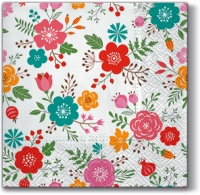 Lunch napkins Flowery Meadow