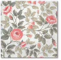 Lunch napkins Misty Roses