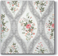Lunch napkins Wallpaper with Flowers