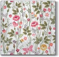 Lunch napkins Garden of Roses