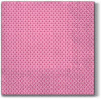 Lunch napkins Small Dots (rosa)