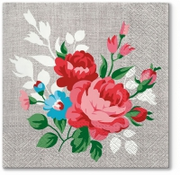 Lunch napkins Flowers On Linen