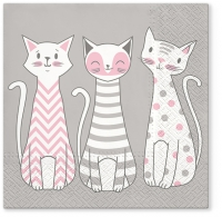 Lunch napkins Glam Cats