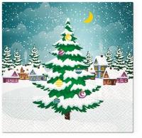 Napkins 33x33 cm - Beautiful Xmas Tree
