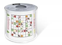 Toilet paper Xmas Sudoku