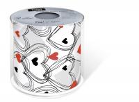 papel higiénico - Topi Ducha de corazones