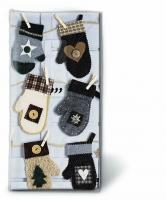 handkerchiefs Xmas mitten