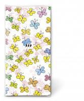 Taschentücher Colourful papillons