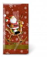 handkerchiefs Santa rides