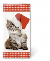 mouchoirs Santa kitty