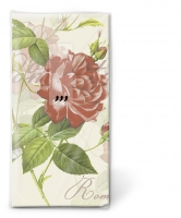 lenços - Rosa clássica