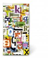 Taschentücher - Bunte Buchstaben