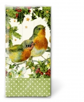 handkerchiefs TT Robins in green