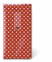 mouchoirs Mini patterns red
