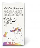pañuelos de papel TT Zu wenig Glitzer