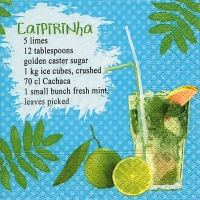 Servilletas Cocktail Caipirinha