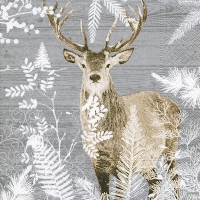 Cocktail napkins Imperial stag