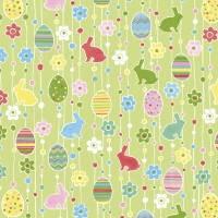 Napkins 25x25 cm - Easter pleasure