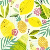 Napkins 25x25 cm - Fresh fruits